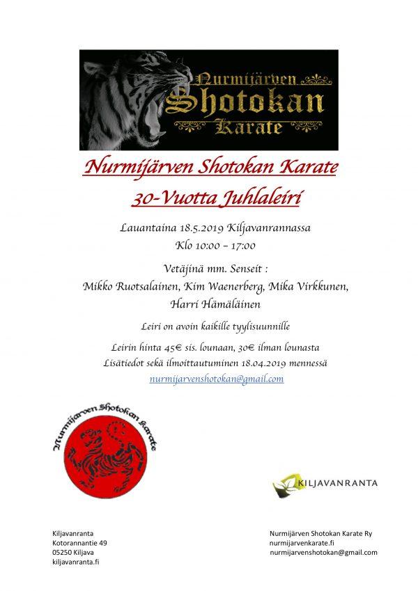 Nurmijärven Shotokan Karate Leiri